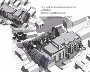 High-end Studio Accommodation, 112 studios, Falmouth, Cornwall, UK