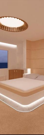 Mega Yacht Guest Room, London, UK - Zoe Vidaly Interior Design Studio